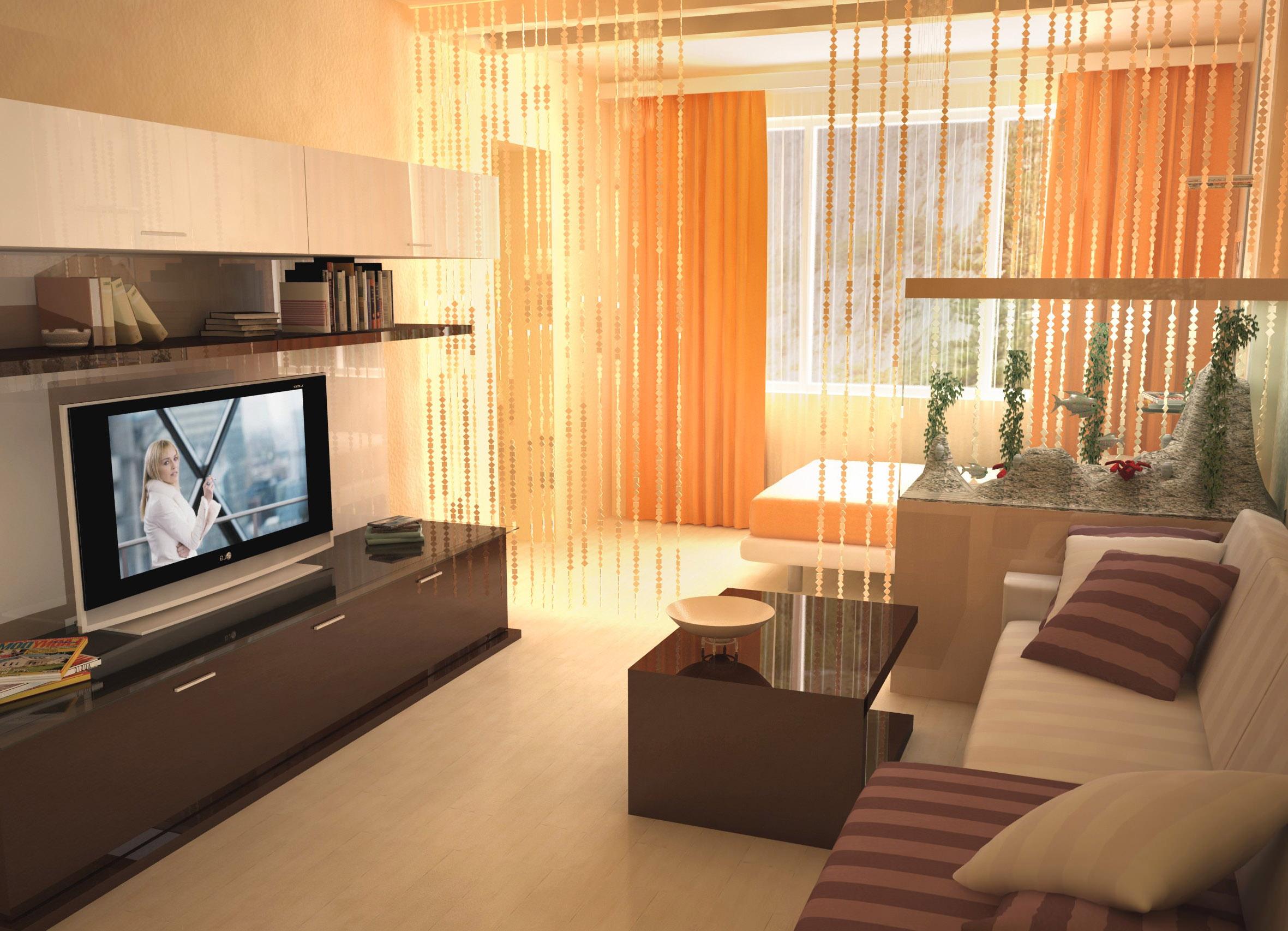 Дизайн 1-комнатной квартиры: советы, фотографии и многое дру.