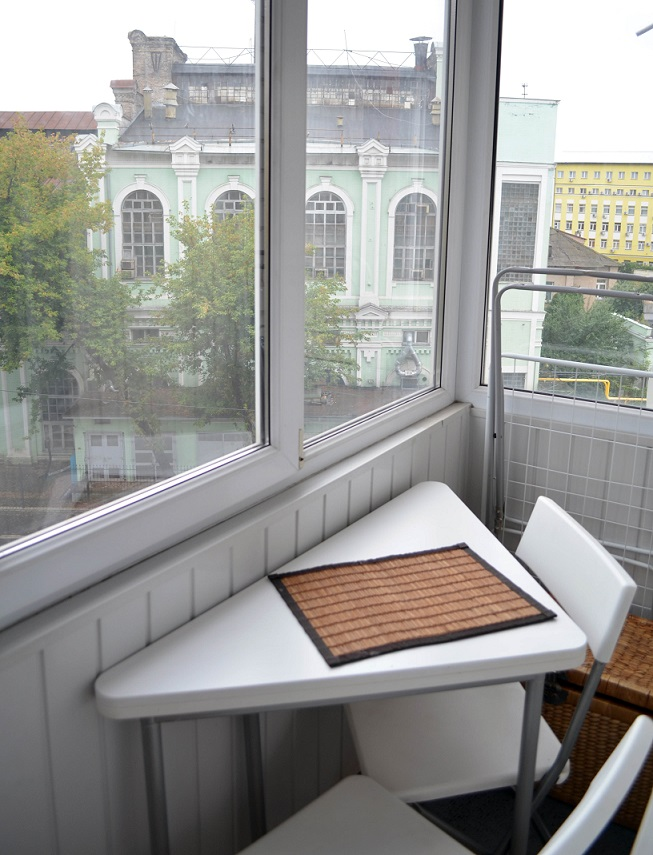 Посуточная квартира в Киеве – прекрасный вид из окна.